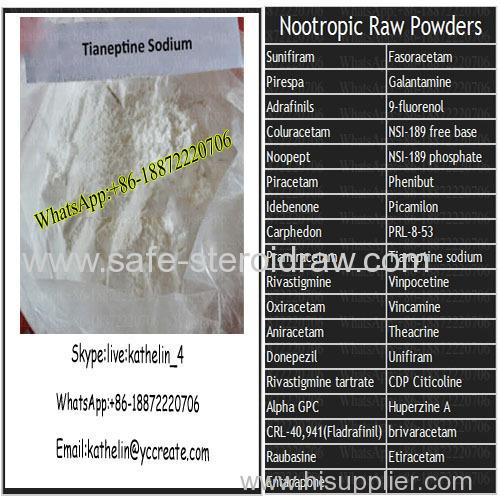 Smart D rugs Tianeptine sodium Powder For Antidepressant CAS 30123-17-2
