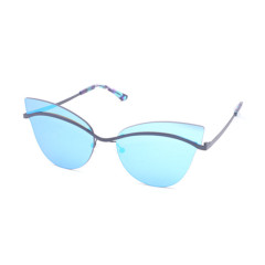 Fashion metal sunglasses cr39 polarized mirror lens glasses