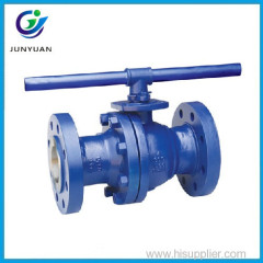 Top quality Paint LCC Steel GAS flange 4 inch ball float valve with hand
