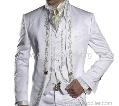 Men's Suits Wedding Party Suits Tuxedos Palace Embroidery