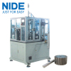 Automatic rotor shaft pressing machine