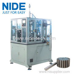 nide Automatic shaft placing machine for rotor wiht PLC