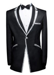Men's Suits Slim Fit Jacket
