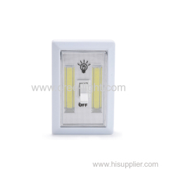 200lumen Battery Operated COB LED cordless Night switch light
