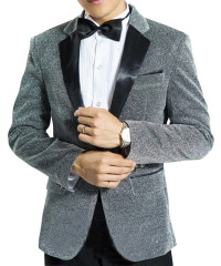 Men's Suit Tuxedos Smokingsakko shiny party suits suit jacket