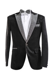 Men's Suit Tuxedos Smokingsakko shiny party suits suit jacket 1-piece
