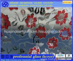 ice flower decorative glass