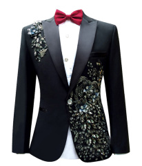 Men's Suit Tuxedos Smoking Suits Slim Fit Jack