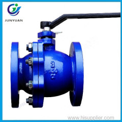 cast iron flange floating water ball valve