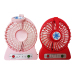 2017 New LED mini portable hand usb fan with lithium battery