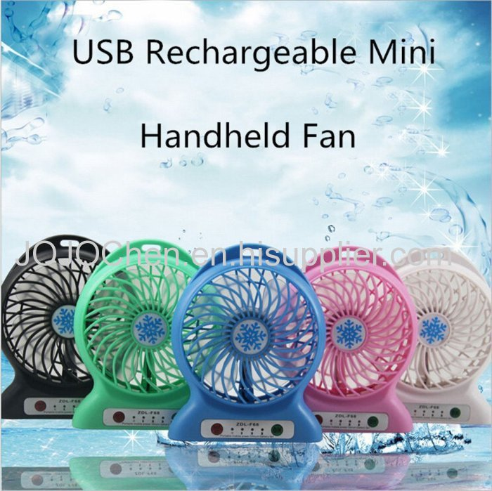 Portable rechargeable mini cooling fan usb small fan from