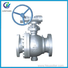 Ball Valve Class 600 Carbon steel A216 WCB API6D Standard Flanged connection Ball Valve