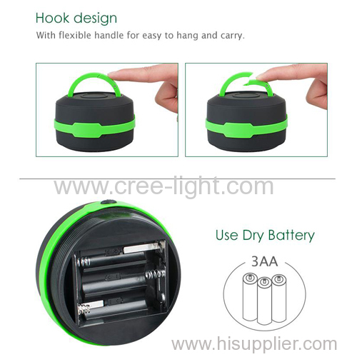 Outdoor Folding Pop Up Camping Hiking Light