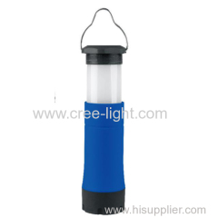 Colorful 1W stretch led camping lamp with flashlight