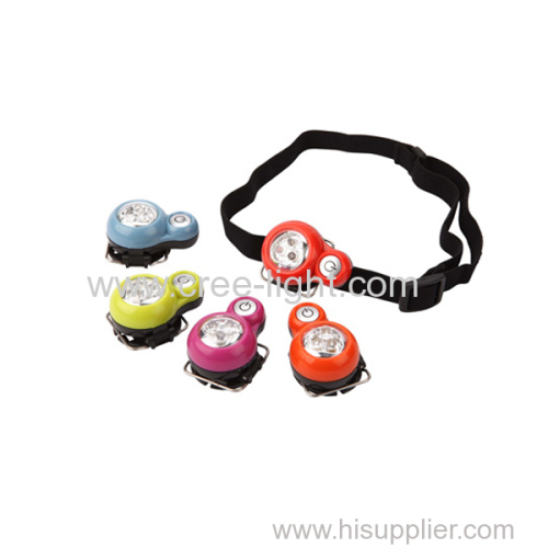 2018 new arrivals 3LEDS Cap Portable Mini led headlamp for children