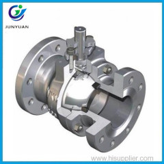 High quality carbon steel full port ansi flanged ball valve