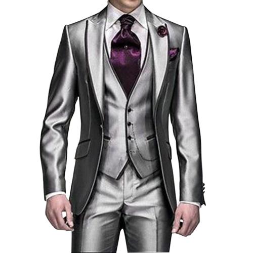 Men's Suits Slim Fit Popular 3 pieces
