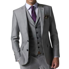 Business Dinner Party Men's suits suit 3 pieces