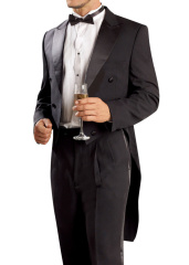 Men's suit tuxedo party party suits two colors