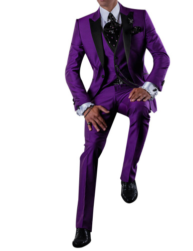 Slim fit suits men's suits casual party suit