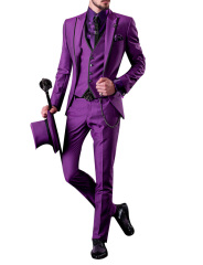 Slim fit suits men's suits casual party suit evening suits