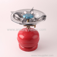 Outdoors BBQ Use Small Gas Cylinders With Competitive Price