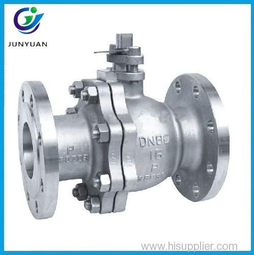 High quality carbon steelansi flanged ball valve