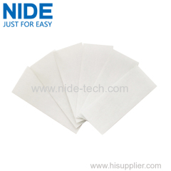 High temperature insulation material for motor insulation