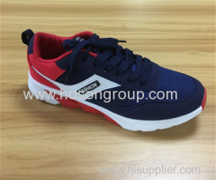 Men casual tie up running shoes