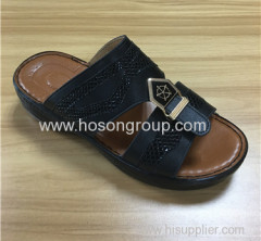 Open toe men beach shoes