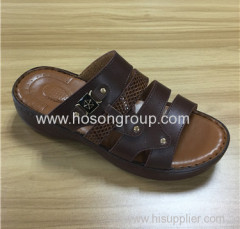 Arab style men beach slippers