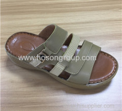 Arab design open toe men slippers