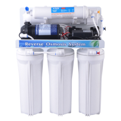 5 Stage Reverse Osmosis purification System with Autoflush