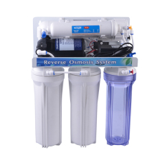 5 stage RO system with manual-flush