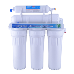 household 5 stage Reverse Osmosis System without Pump