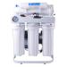 6 etapa de ósmosis inversa con indicador de presión del aceite