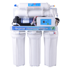 5 stage RO water filter system with digital display
