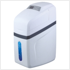 water softener with valve