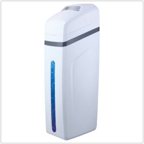 Cabinet type water softener
