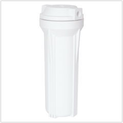 household water filter housing