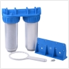 doule transparent water filter housing