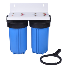 undersink double bule water filters