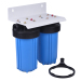 Double Big blue Water Filters