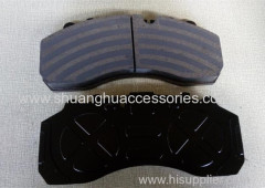 Brake pads for BUS-Low metallic brake lining