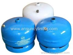 Small New LPG Cylinders With High Quality For Ghana