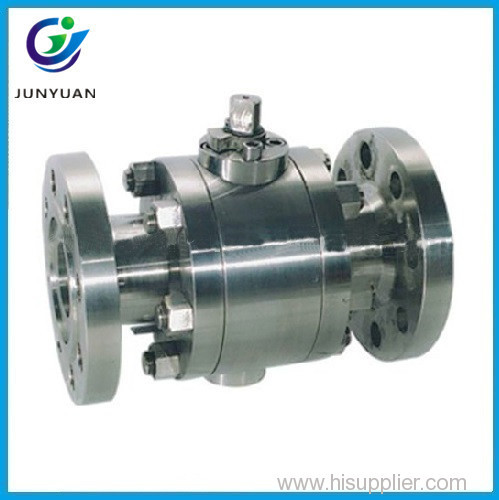 Forged Lever Floating Ball Valve