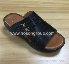 Arab style men casual slippers