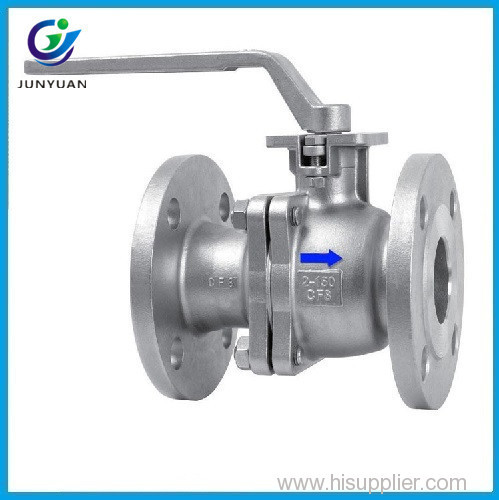 high quality handle flange 2 inch stainless ball valve