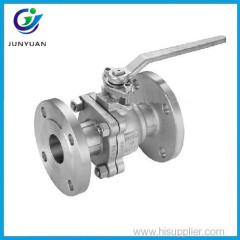handwheel cast steel floating flange end entry ball valve
