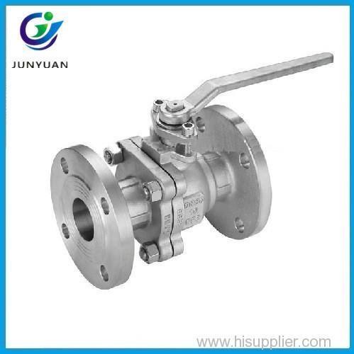 handwheel cast steel floating flange end entry ball valve